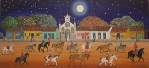Cavalgada noturna - Gilvan